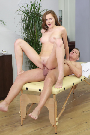Stacy Cruz likes to frolic and have sex under the guise of a masseuse